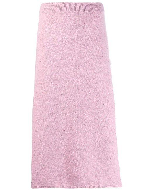 Joseph Aライン スカート Pink