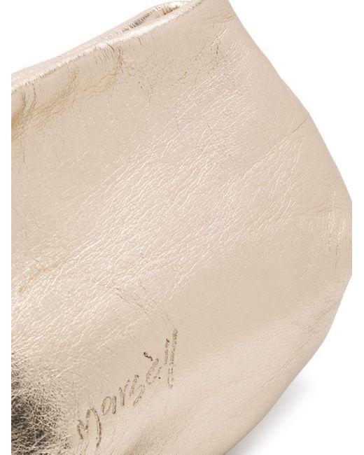 Маленькая Полукруглая Сумка Marsèll, цвет: Metallic