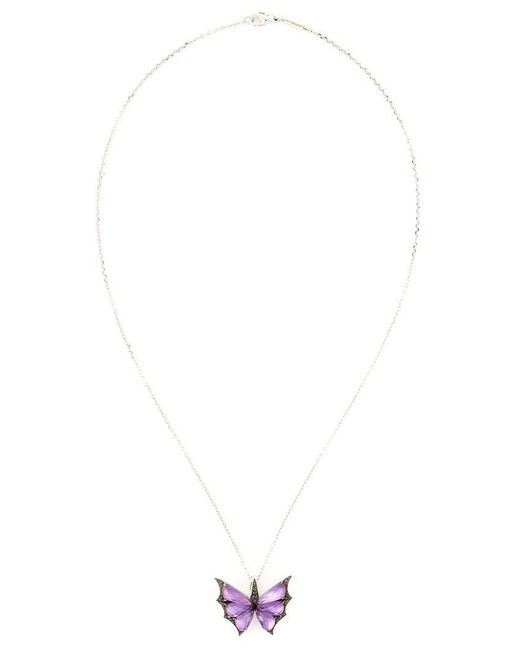 Stephen Webster - Metallic 'fly By Night' Pendant Necklace - Lyst
