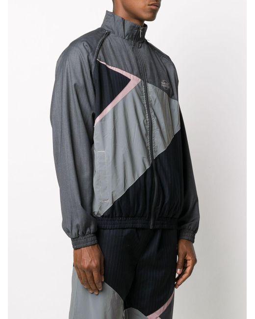 メンズ Daily Paper ロゴ トラックジャケット Gray