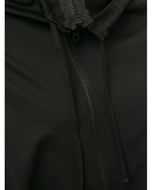 Yohji Yamamoto ジップ ロングシャツ Black
