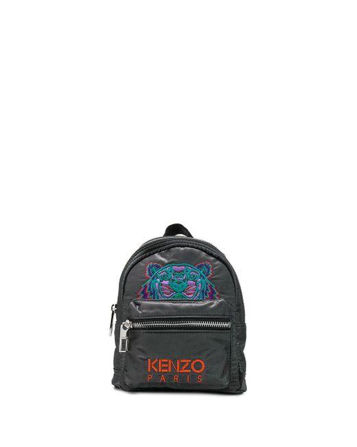 メンズ KENZO タイガー エンブロイダリーバックパック Multicolor