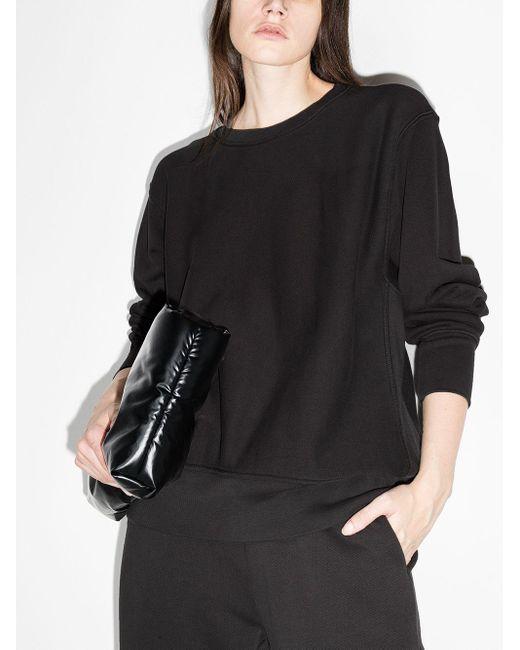 Les Tien クルーネック スウェットシャツ Black