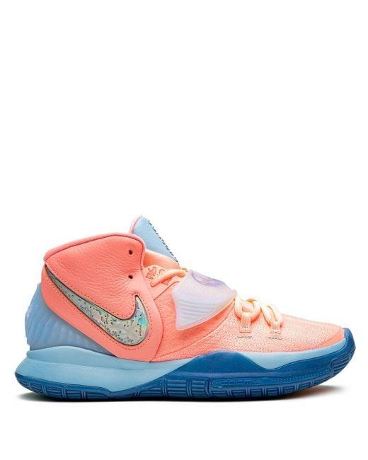 メンズ Nike Kyrie 6 ハイカット スニーカー Pink