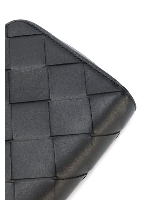 Клатч С Плетением Intrecciato Bottega Veneta для него, цвет: Black