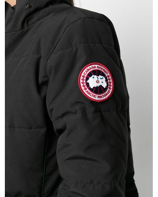 Canada Goose フーデッド パデッドジャケット Black