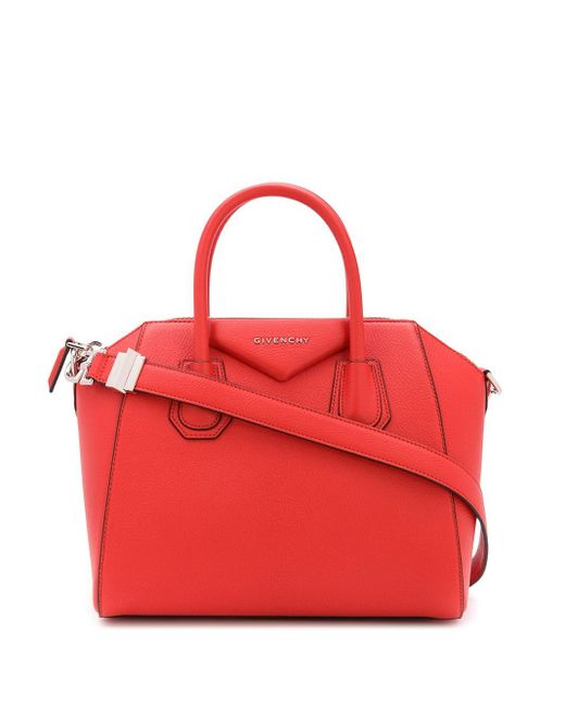 Сумка-тоут Antigona Givenchy, цвет: Red