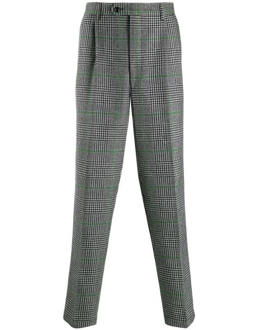 メンズ LC23 ハウンドトゥース パンツ Gray