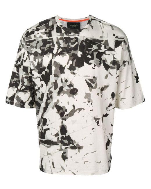 メンズ Mr & Mrs Italy カモフラージュ Tシャツ Multicolor