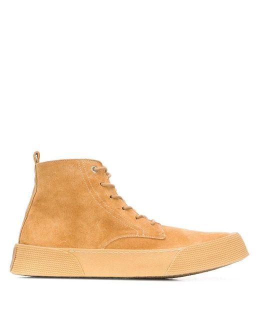 Ботинки На Шнуровке AMI для него, цвет: Brown
