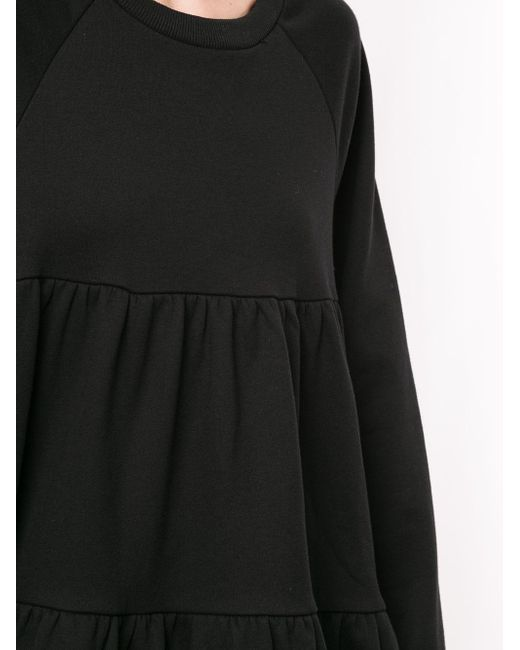 Cynthia Rowley Vail Cozy ギャザー ドレス Black