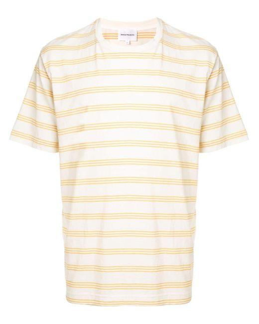 メンズ Norse Projects ストライプ Tシャツ Multicolor