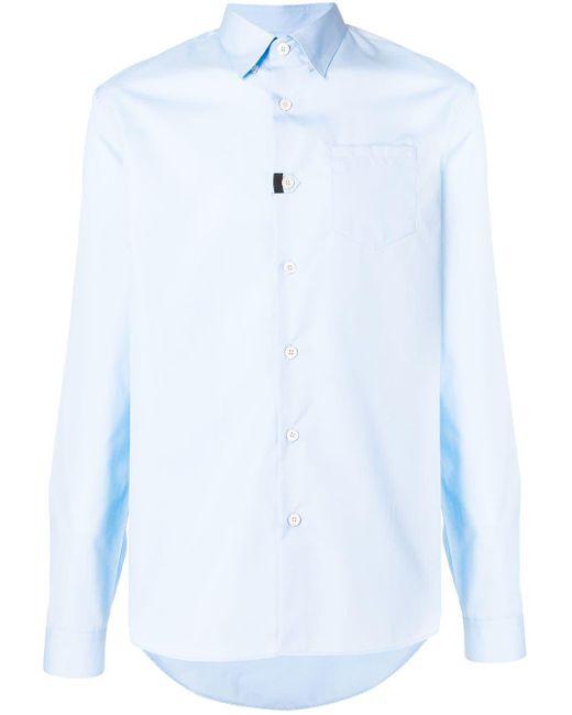 Prada Klassiek Formeel Overhemd in het Blue voor heren