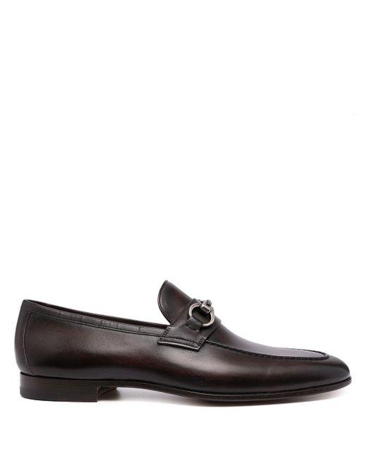 メンズ Magnanni Shoes Diago ホースビット ローファー Brown
