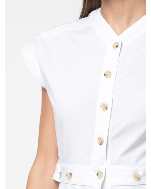 Proenza Schouler ショートスリーブ シャツドレス White