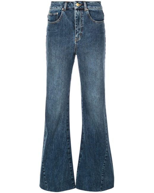 Co. Blue Flared Jeans