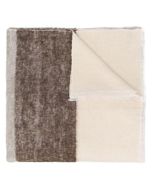 Denis Colomb オーバーサイズ スカーフ White