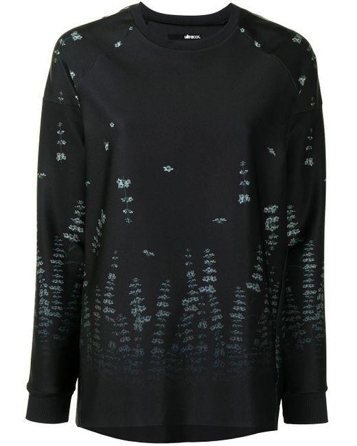 Ultracor プリント スウェットシャツ Black