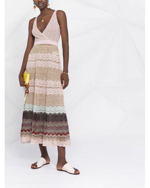 Missoni メタリック ドレス Multicolor