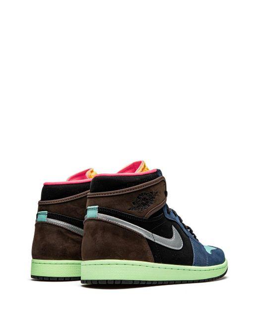 Кроссовки Air 1 High Og 'bio Hack' Nike для него, цвет: Blue