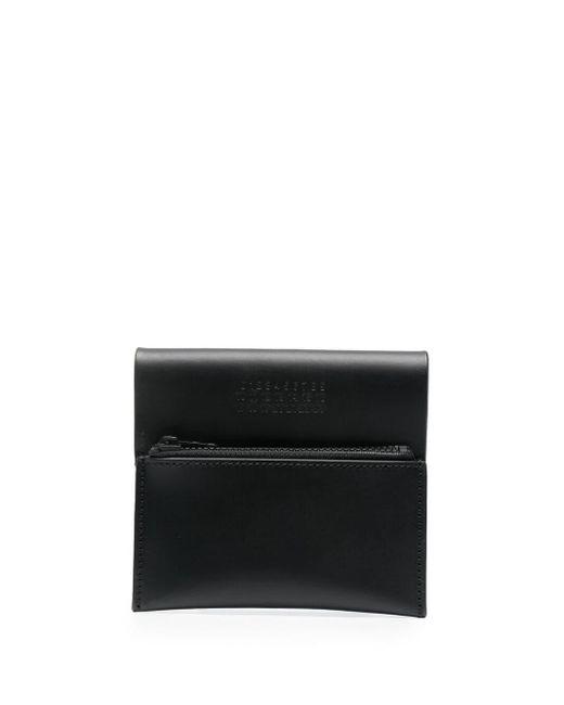 Кошелек С Декоративной Строчкой Maison Margiela для него, цвет: Black