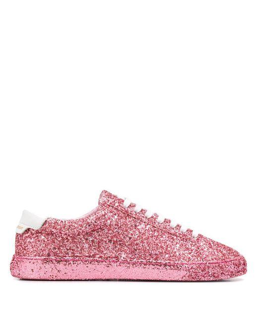 Saint Laurent アンディ スニーカー Pink