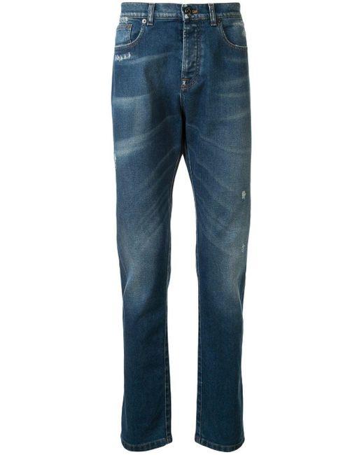 メンズ N°21 スリムジーンズ Blue