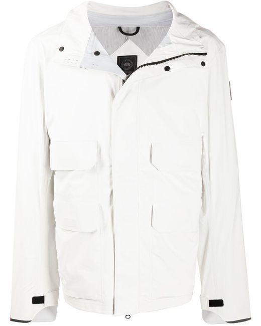 メンズ Canada Goose フーデッドジャケット White