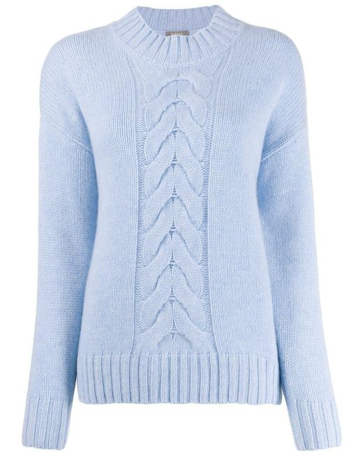 N.Peal Cashmere カシミア セーター Blue