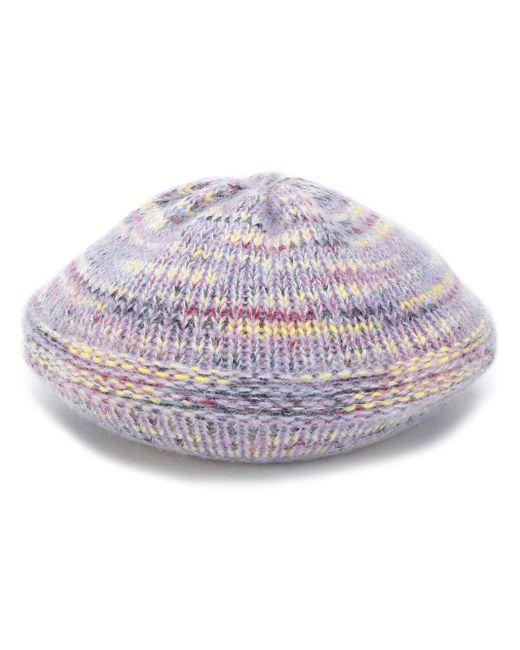 Missoni ニット ベレー帽 Purple