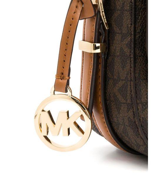 Большая Сумка Через Плечо Bedford Legacy С Логотипом MICHAEL Michael Kors, цвет: Brown