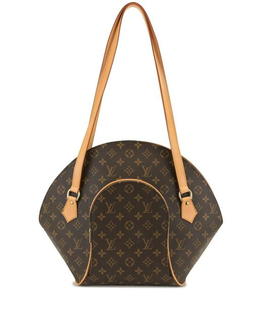 Borsa a spalla Ellipse Pre-owned 1997 di Louis Vuitton in Brown