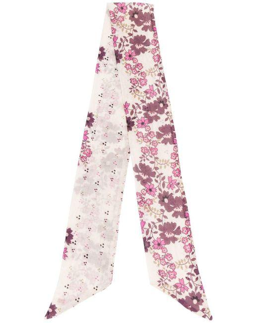 DSquared² フローラル スカーフ Pink