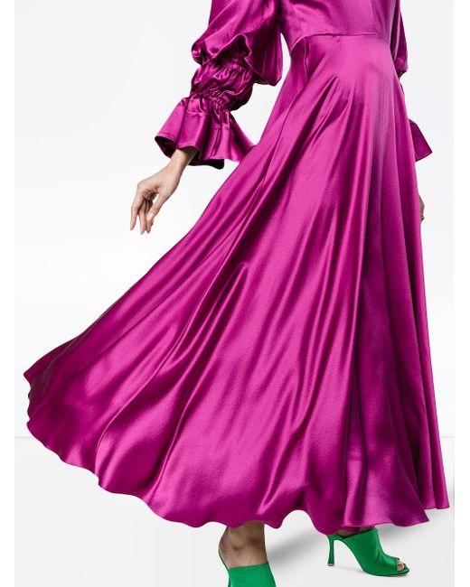 Roksanda Lavonne シルクドレス Pink