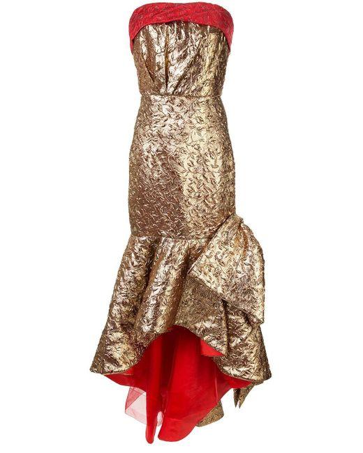 Bambah Mermaid リボンドレス Multicolor