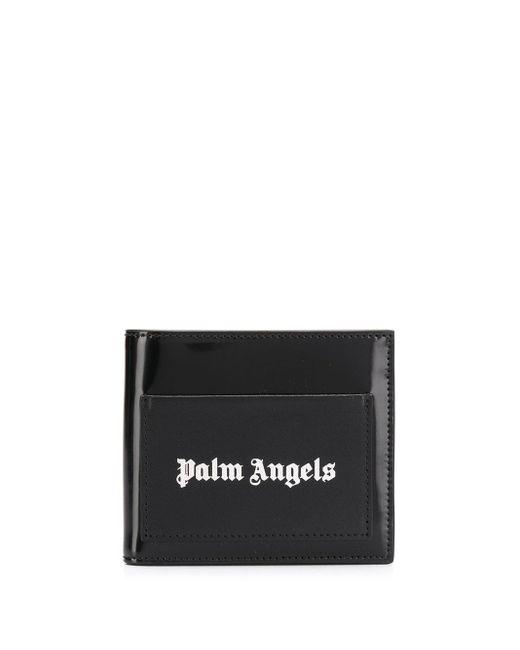 メンズ Palm Angels 二つ折り財布 Black