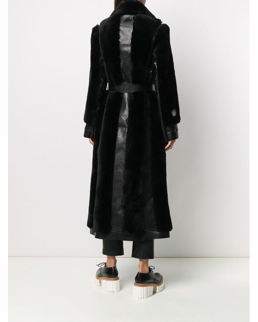 Stella McCartney オーバーサイズ コート Black