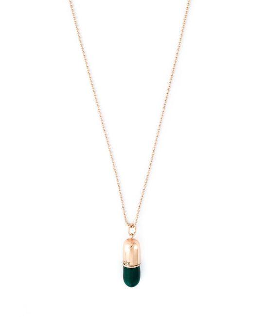 True Rocks Blue Large Pill Pendant Necklace