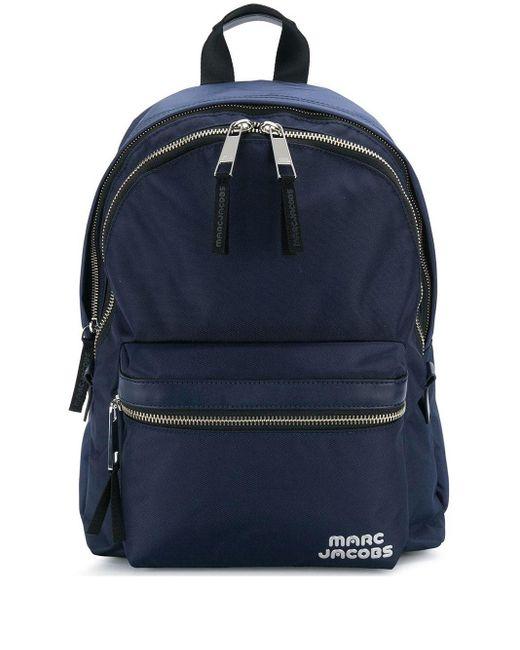 Marc Jacobs Blue Trek Pack Backpack