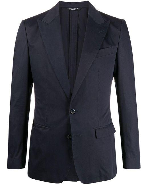 メンズ Dolce & Gabbana テーラードジャケット Blue
