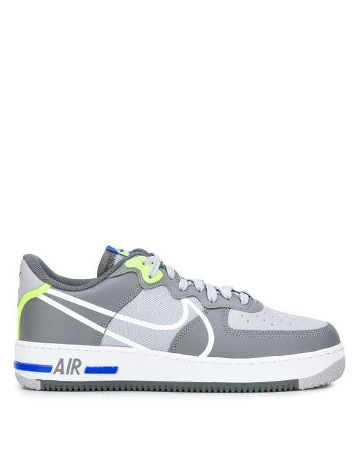 メンズ Nike Air Force 1 スニーカー Gray