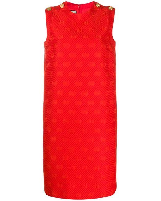 Gucci インターロッキングg ドレス Red