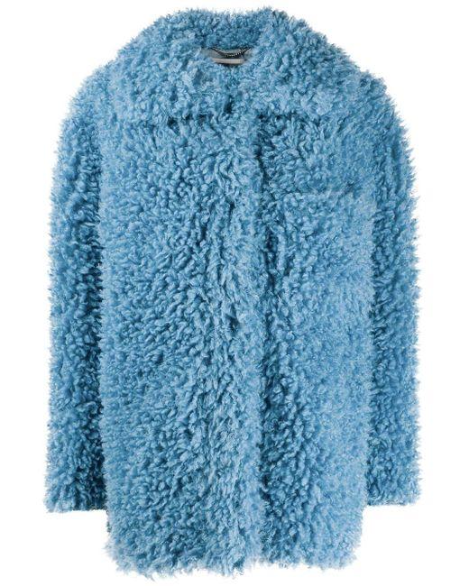 Stella McCartney オーバーサイズ オープンコート Blue
