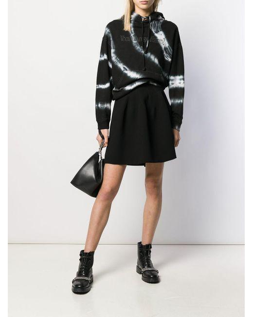 Givenchy フレア ミニスカート Black