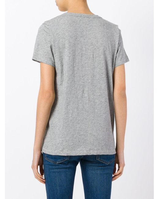 Rag & Bone Vネック Tシャツ Gray