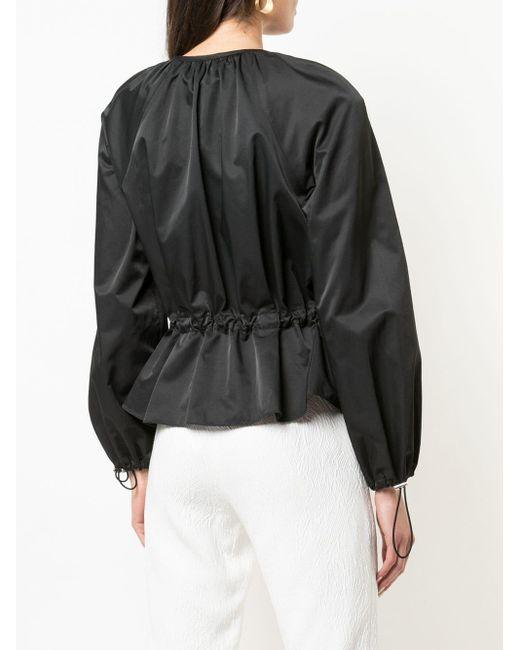 Natori Black Bluse mit Taillenzug