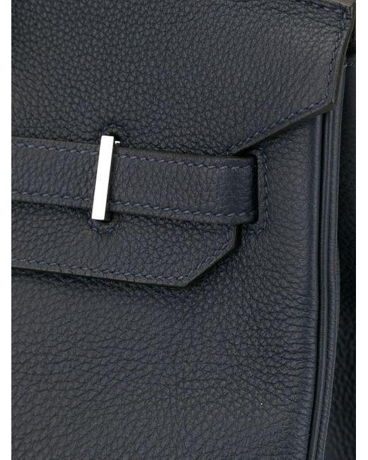 Hermès プレオウンド バーキン 35 ハンドバッグ Blue