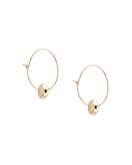 Серьги-кольца С Подвесками Petite Grand, цвет: Metallic