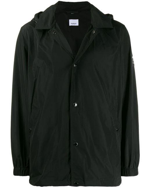 メンズ Burberry ジップジャケット Black
