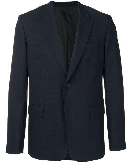 メンズ AMI 2ボタン ジャケット Blue